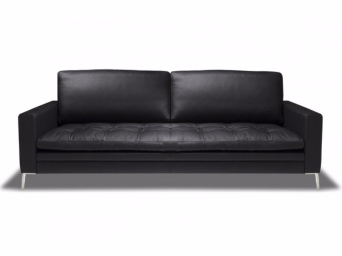 3 seater leather sofa ADONIS - Canapés Duvivier