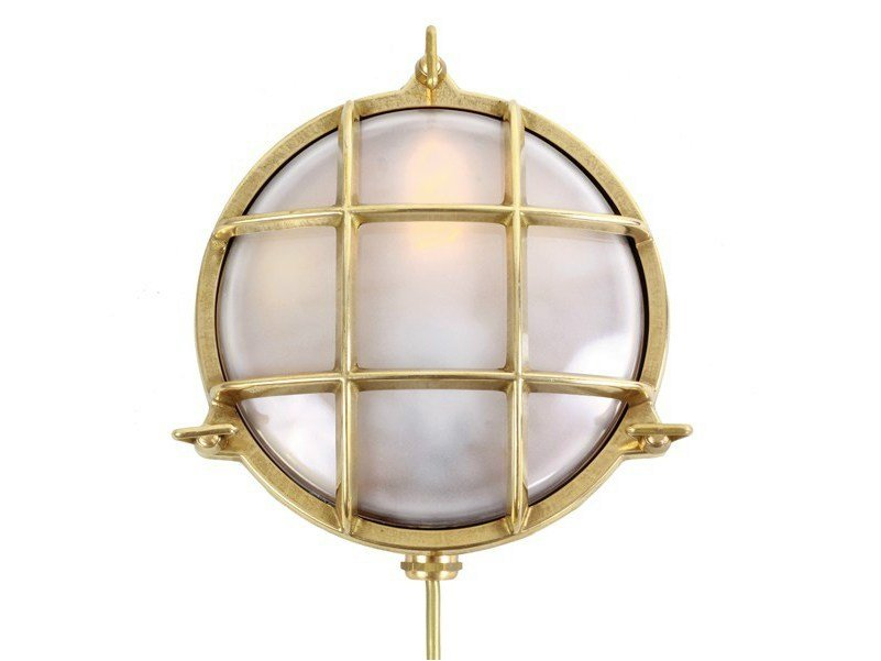 Direct light handmade wall light ADOO MARINE NAUTICAL WALL LIGHT - Mullan Lighting