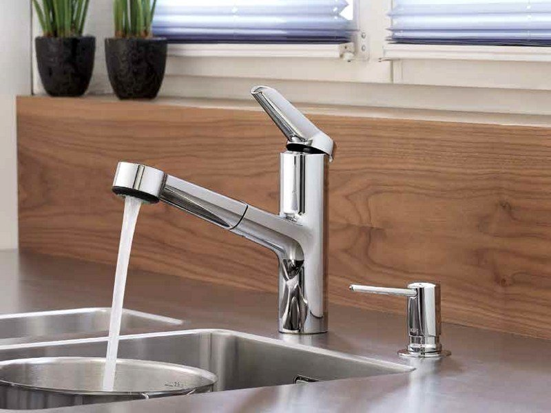 Countertop 1 hole kitchen mixer tap KWC ADRENA | Kitchen mixer tap by KWC