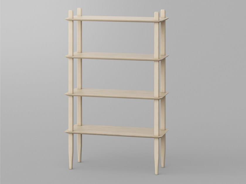Solid wood shelving unit AETAS | Shelving unit by Vitamin Design