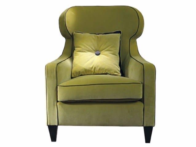 Fabric armchair AGATA - SOFTHOUSE