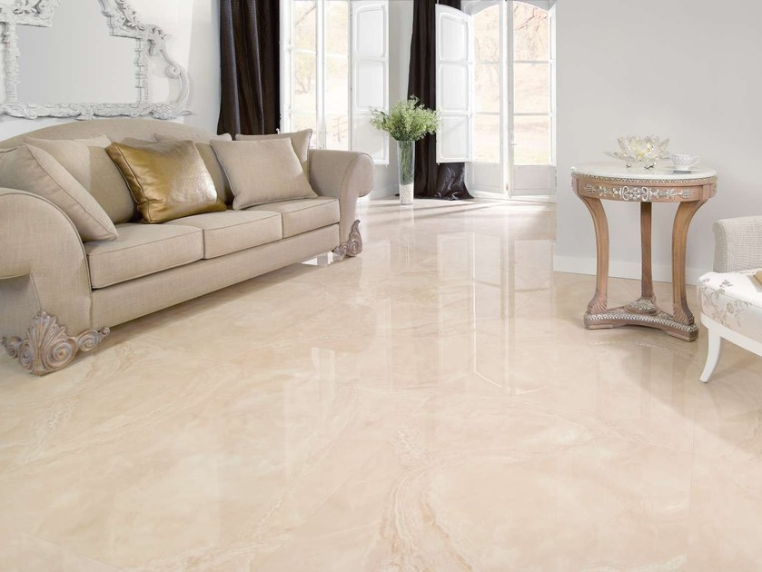 Porcelain stoneware wall tiles / flooring AGATHA by Museum