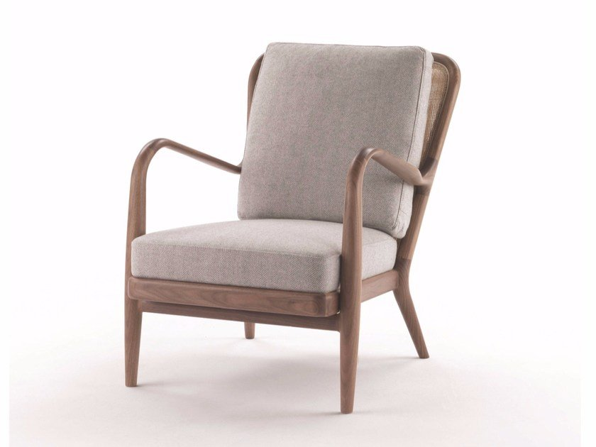 Bergere armchair with armrests AGAVE | Bergere armchair by FLEXFORM