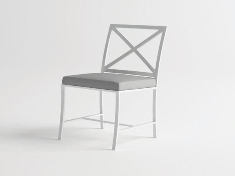 Sedia da giardino in alluminio AGOSTO | Sedia - 10Deka