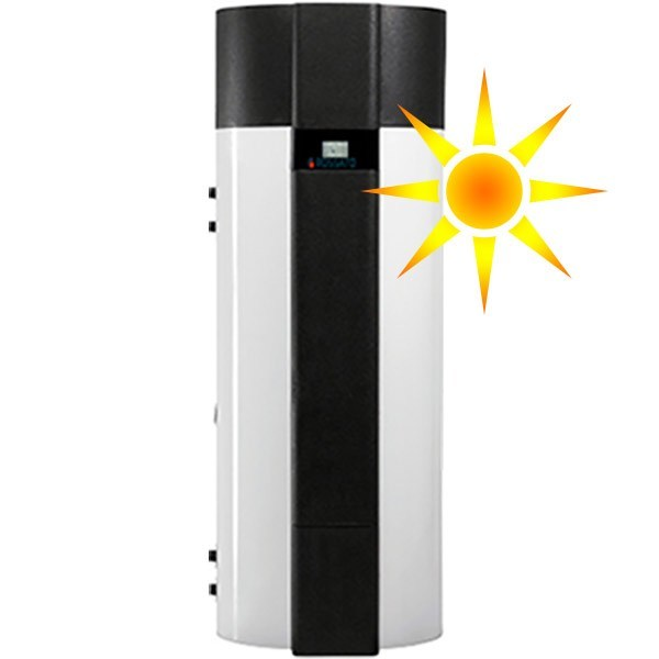 Heat pump for solar systems AIR COMBO PRO 200/300 S | Boiler for solar heating system - Rossato Group