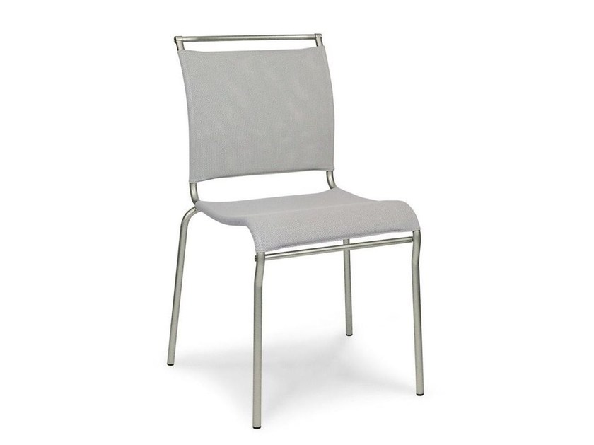 Stackable mesh chair AIR | Stackable chair - Calligaris