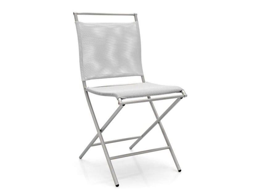 Folding mesh chair AIR FOLDING | Folding chair - Calligaris