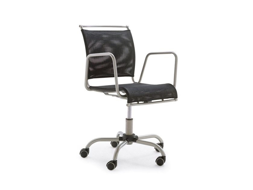 Task chair with 5-Spoke base with casters AIR RACE - Calligaris