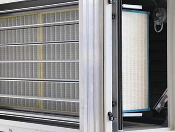 Unit integrata di trattamento dell aria air suite rhoss for Case modulari con suite di legge