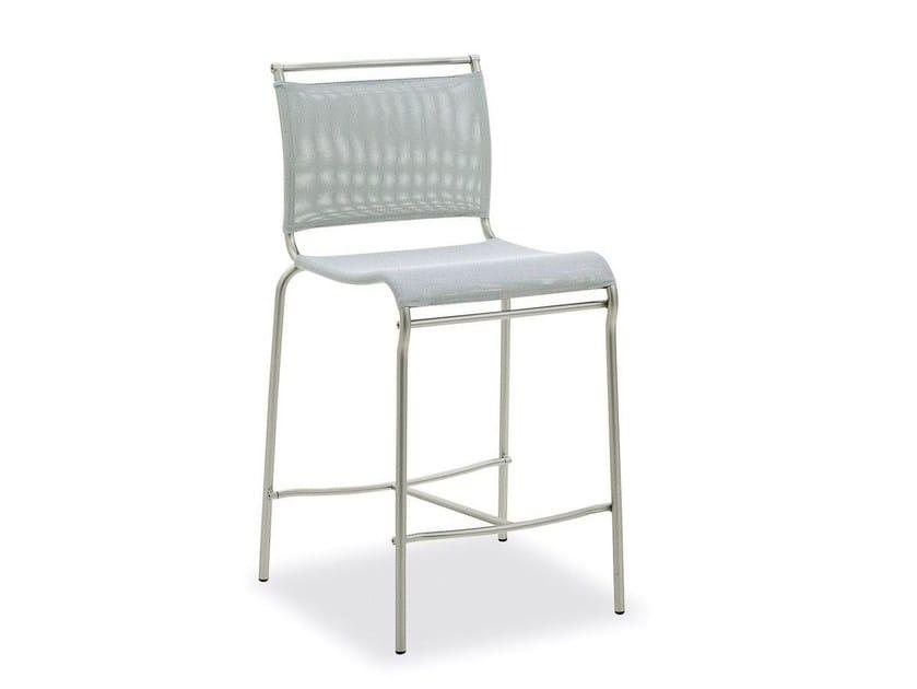Mesh counter stool AIR   Counter stool - Calligaris