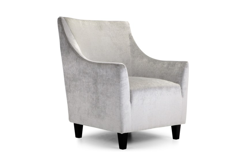 Fabric guest chair with armrests AISLING SMALL   Fabric armchair by Domingo Salotti