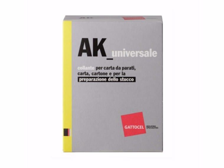 Glue and mastic AK_universale by Gattocel Italia