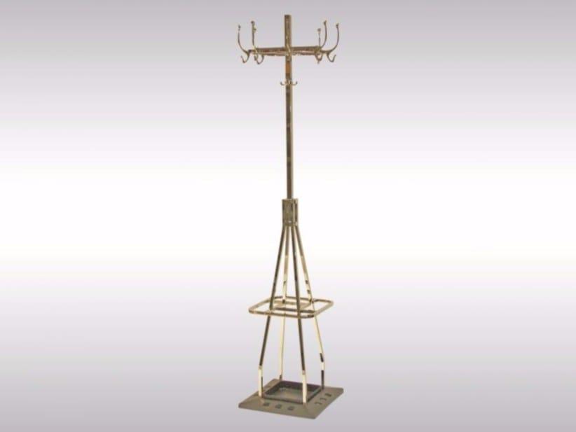 Brass coat stand AL1 CAFE CAPUA - Woka Lamps Vienna