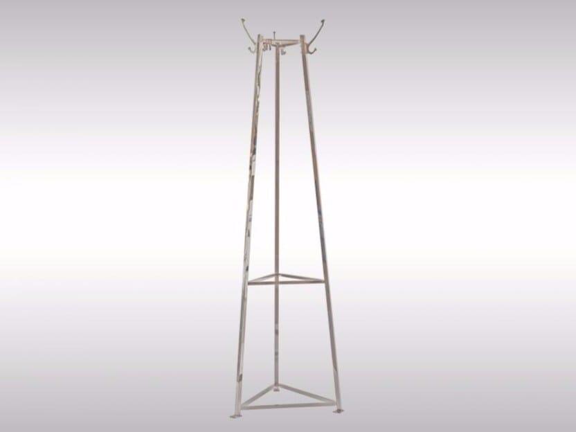 Brass coat stand AL2 - Woka Lamps Vienna