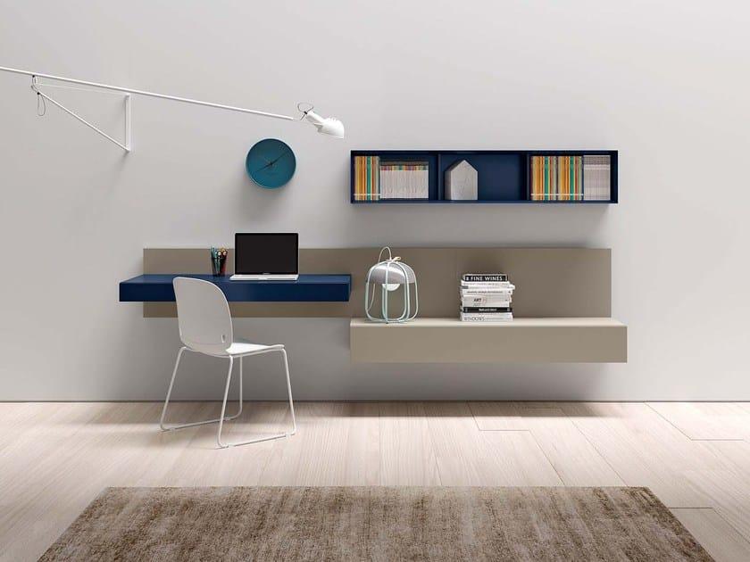Contemporary style secretary desk ALA P408 - PIANCA