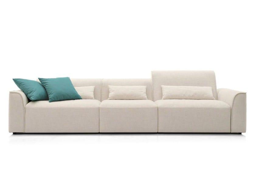 Sectional fabric sofa ALAMEDA | Sofa - Calligaris