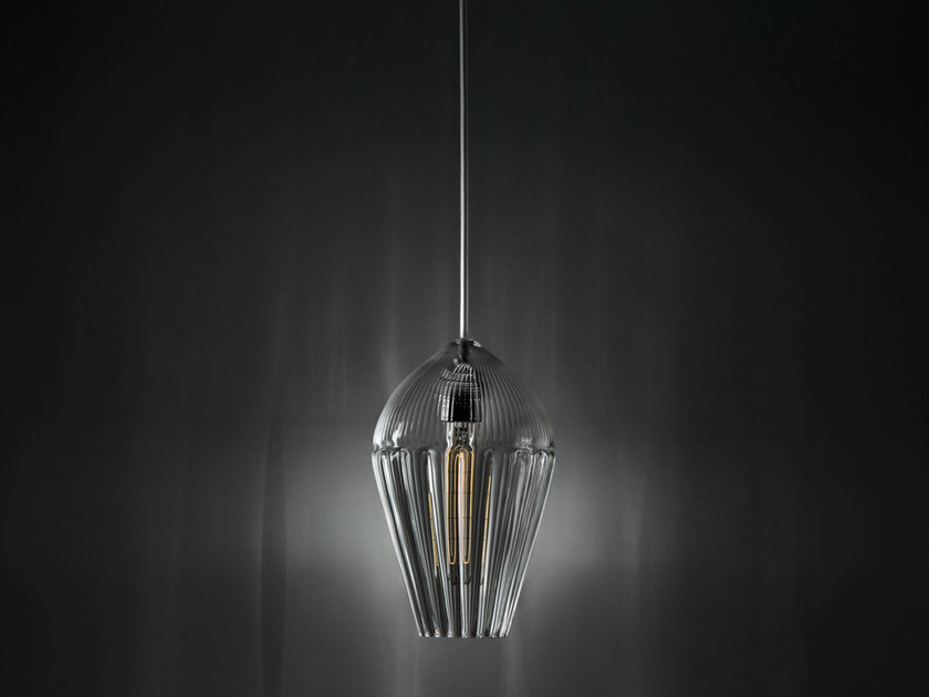 Glass pendant lamp ALBA | Pendant lamp by ILIDE