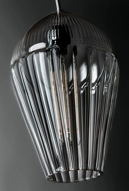 lampada a sospensione in vetro alba | lampada a sospensione - ilide - Lampade Arabe Italia