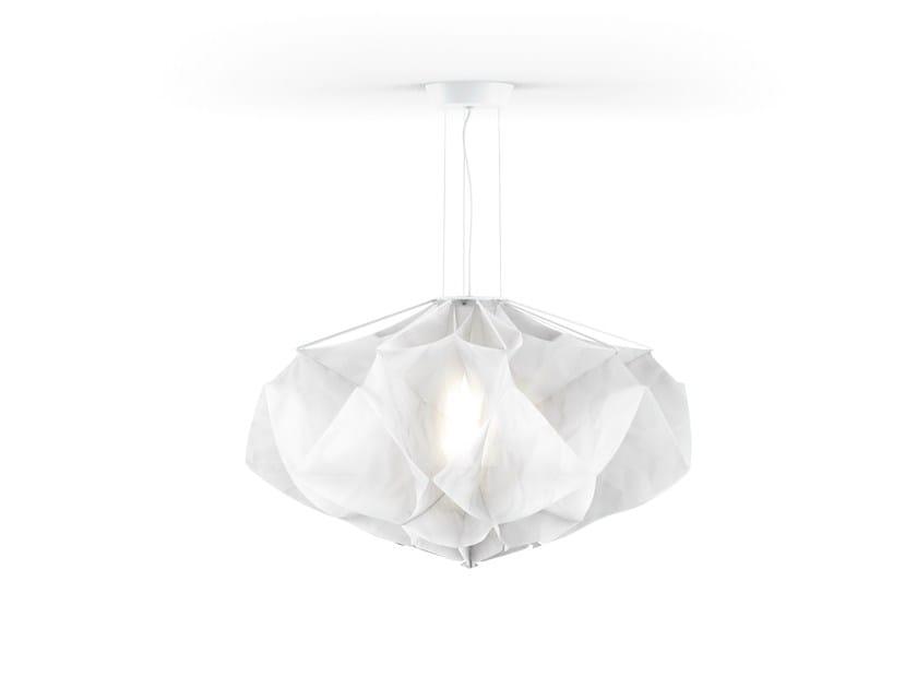 Fabric pendant lamp ALBEDO Large by FontanaArte