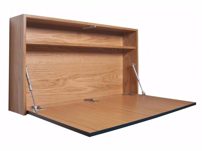 Wooden secretary desk ALEXYS by AZEA