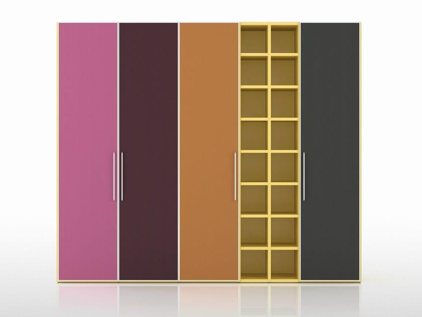 Sectional wardrobe ALFABETO FRAMED DOOR | Sectional wardrobe - De Rosso
