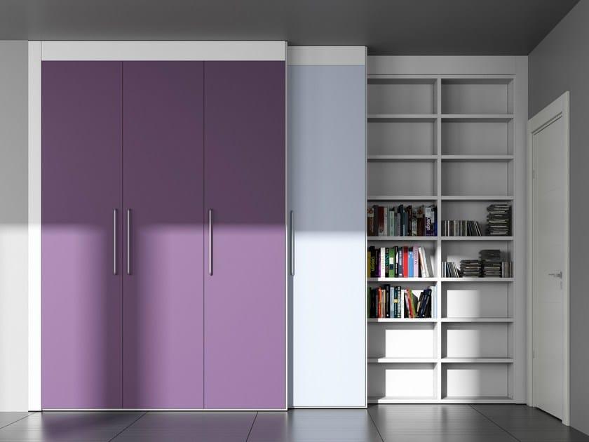 Sectional custom storage wall ALFABETO RE/SOLUTION | Storage wall - De Rosso