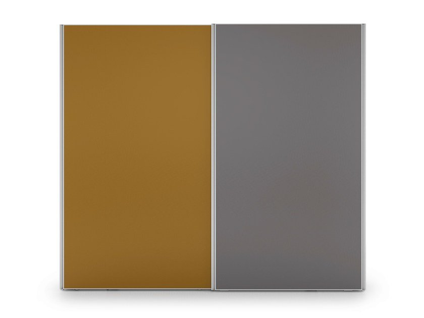 Wardrobe with sliding doors ALFABETO ULTRALIGHT SLIDING DOORS | Wardrobe with sliding doors by De Rosso