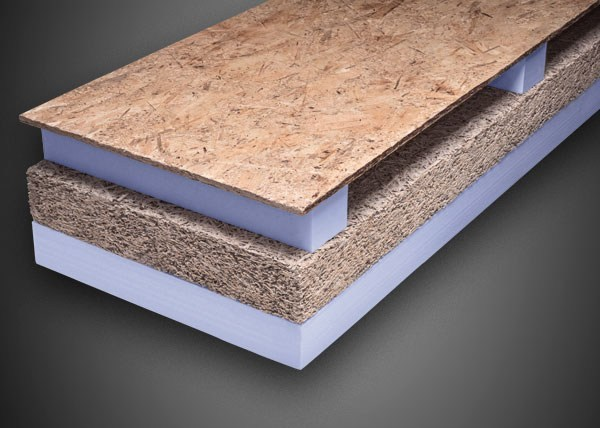 XPS thermal insulation panel ALGOPAN XPS LC | Composite panel for roof by Ediltec