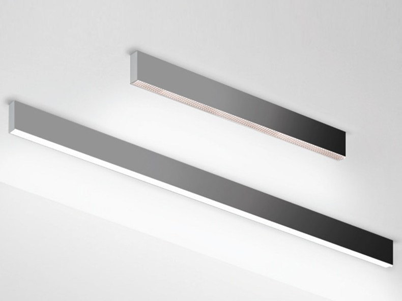 Direct light aluminium ceiling lamp ALGORITMO | Ceiling lamp - Artemide Italia