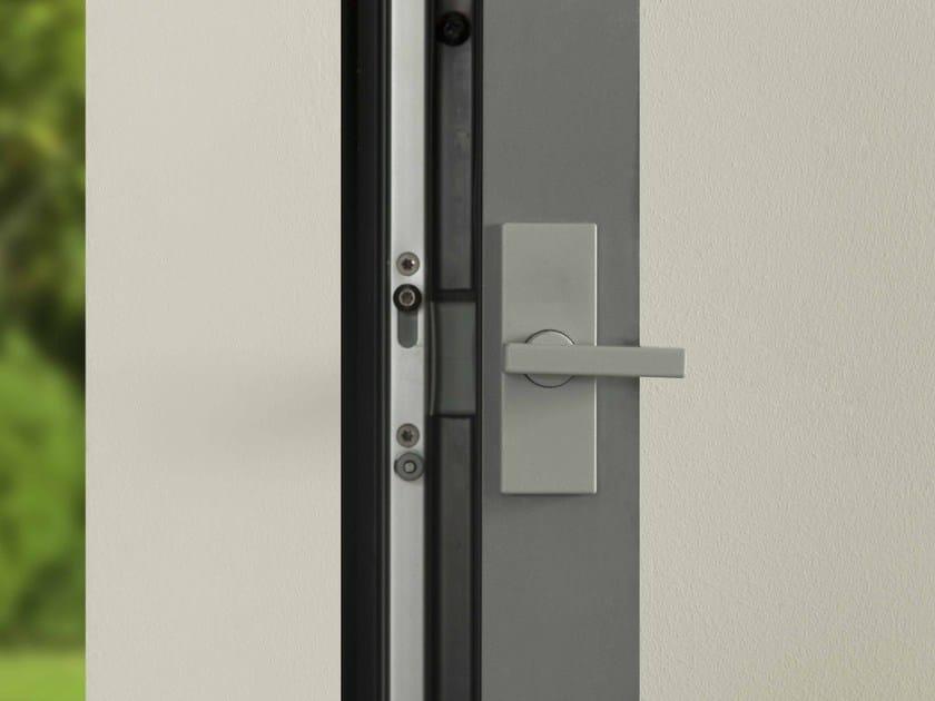 Porta finestra scorrevole in alluminio e vetro aliante by - Porta finestra scorrevole ...