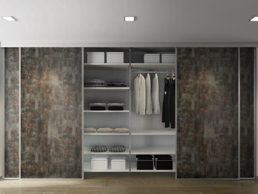 Sectional walk-in wardrobe ALIANTE SYSTEM | Walk-in wardrobe - De Rosso