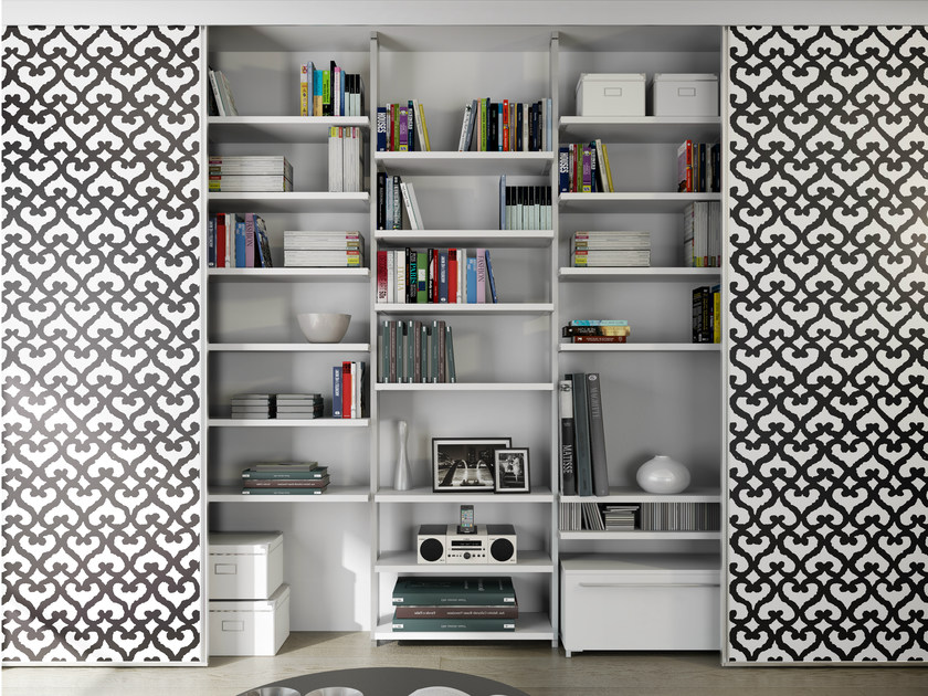 Storage wall ALIANTE SYSTEM | Storage wall by De Rosso