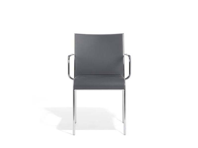 Polypropylene chair with armrests ALIN | Chair with armrests - Potocco