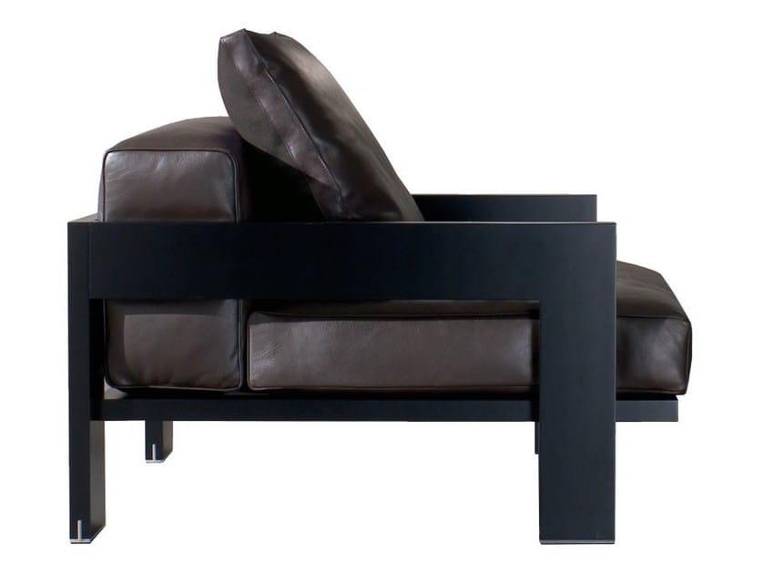 Armchair ALISON BLACK LAC. ARMCHAIR - Minotti