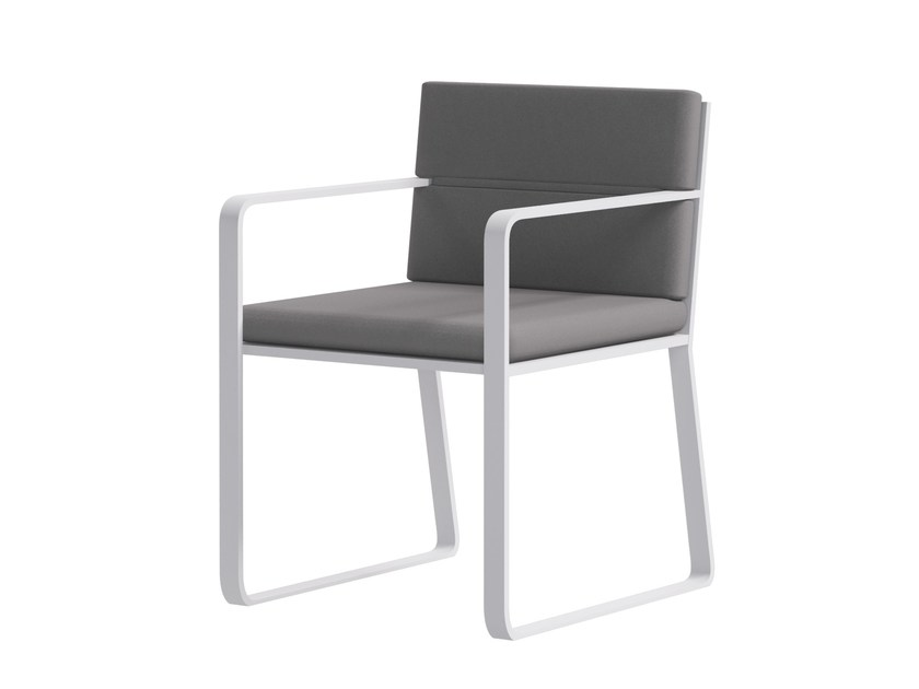 Upholstered garden chair with armrests ALL - Atmosphera