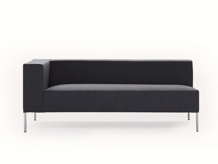 Upholstered fabric day bed ALLEN 2 | Day bed - MDF Italia