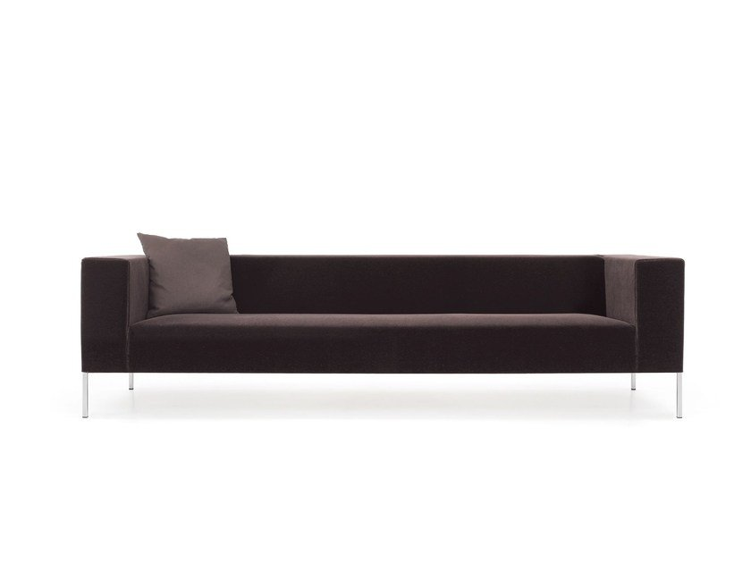 Upholstered fabric sofa with removable cover ALLEN 2 | Sofa - MDF Italia