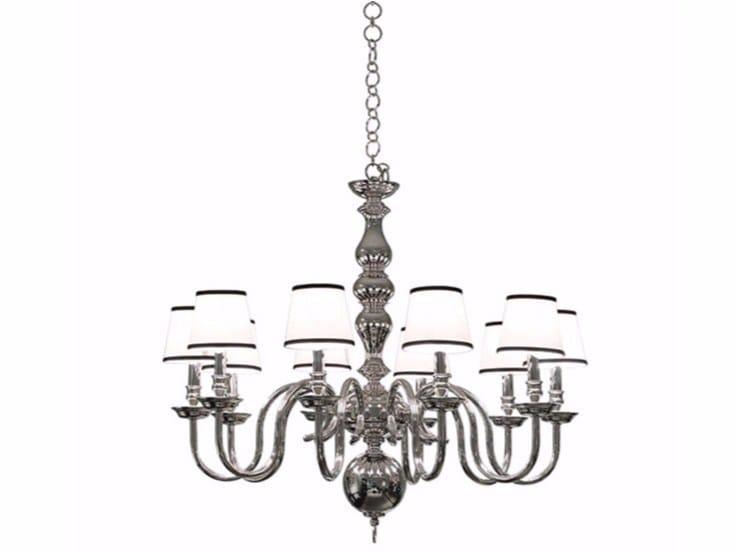 Direct light brass chandelier ALLISON - Gianfranco Ferré Home