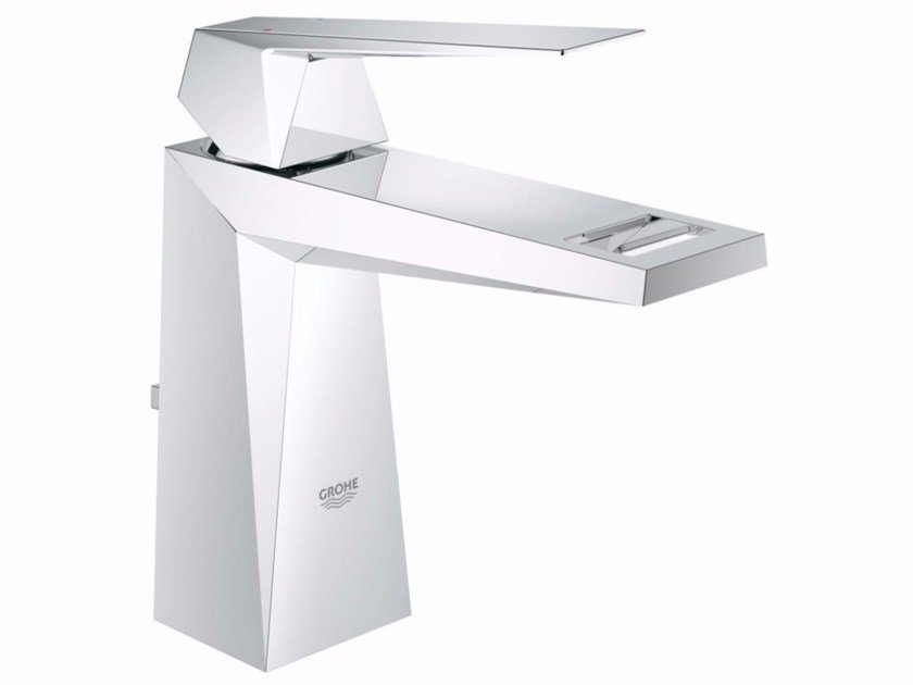 Countertop single handle washbasin mixer ALLURE BRILLIANT 23029000 | Washbasin mixer with pop up waste by Grohe