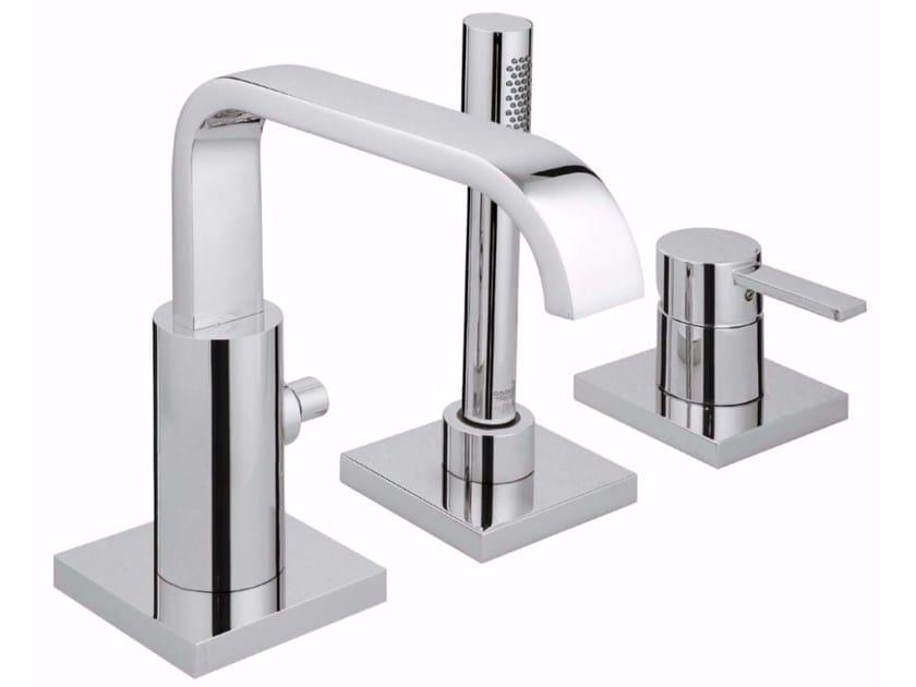 3 hole single handle bathtub set with hand shower ALLURE | Bathtub set by Grohe