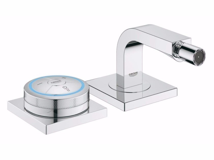 Countertop single handle bidet mixer ALLURE F-DIGITAL | Bidet mixer by Grohe