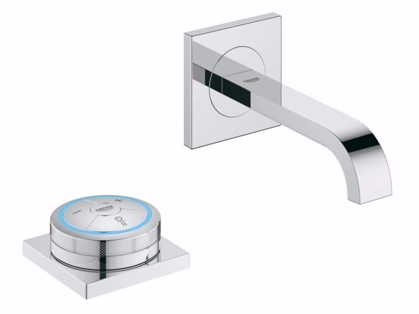 Single handle washbasin mixer ALLURE F-DIGITAL | Wall-mounted washbasin mixer - Grohe