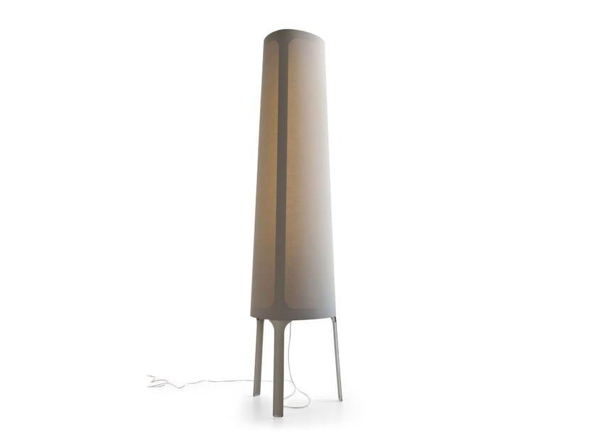 Fabric floor lamp ALLURE | Floor lamp - Calligaris