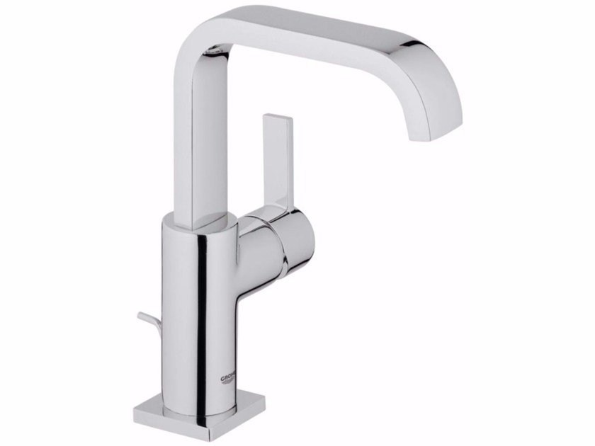 Countertop single handle washbasin mixer ALLURE SIZE L | Washbasin mixer with pop up waste - Grohe