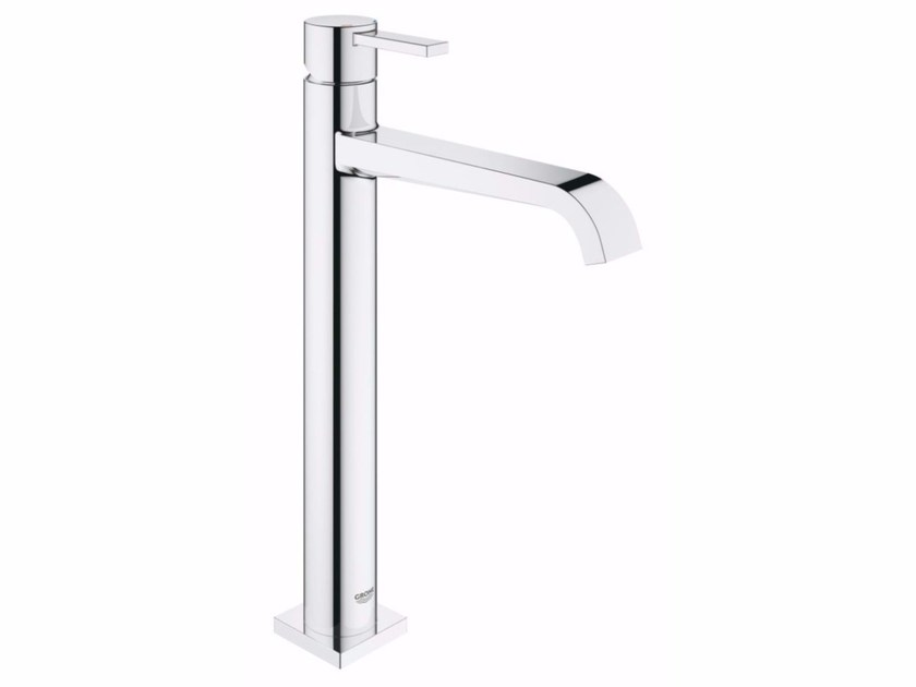Countertop 1 hole washbasin mixer ALLURE | Washbasin mixer with temperature limiter - Grohe