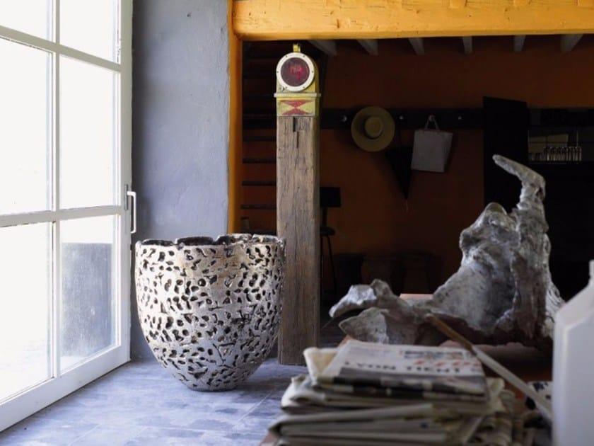 Terracotta vase ALMOND by Domani