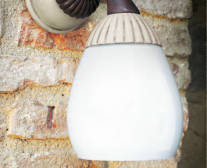 Ceramic wall lamp ALPE DI SENNES by Aldo Bernardi