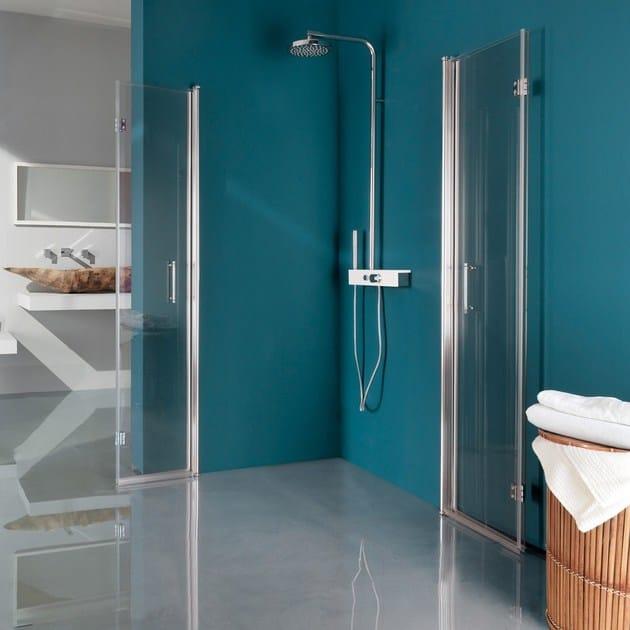 Box doccia in vetro alter box doccia con porte a soffietto samo - Porta doccia samo ...