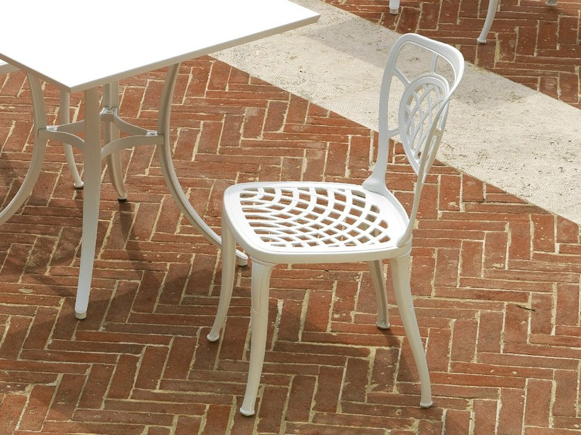 Aluminium garden chair ALTHEA | Chair - FAST