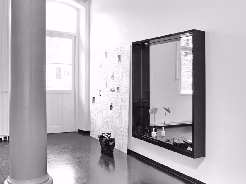 Wall-mounted framed mirror ALTO - Schönbuch